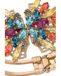 Anton Heunis | Multicolor Swarovski Crystals Adjustable Bracelet | Lyst