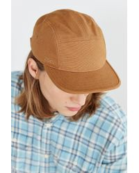 Coal - Brown X Otter Wax Richmond 5-panel Hat for Men - Lyst