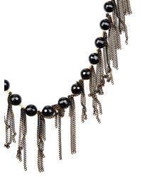 Rosantica By Michela Panero Black California Onyx Necklace