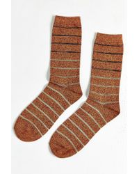 Urban Outfitters | Orange Gradient Stripe Sock for Men | Lyst