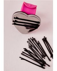 Missguided - Metallic Magnetic Bracelet & Clip Set - Lyst