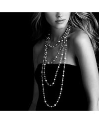 David Yurman - Metallic Chain Necklace - Lyst