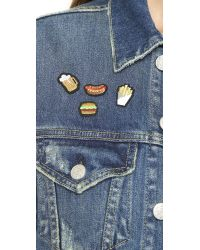 Macon & Lesquoy | Multicolor Junk Food Patch Set - Multi | Lyst