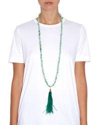 Rosantica By Michela Panero Green Himalaya Opal Necklace