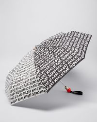 Marc By Marc Jacobs - White Logo Umbrella - Lyst