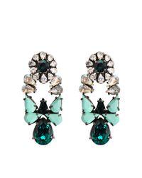 Shourouk Metallic Mia Earrings