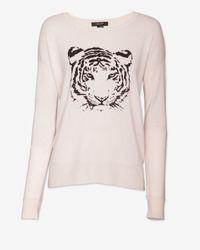 Christopher Fischer | Pink Tiger Graphic Cashmere Sweater | Lyst