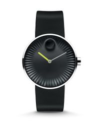 Movado - Metallic Edge Stainless Steel Watch - Lyst