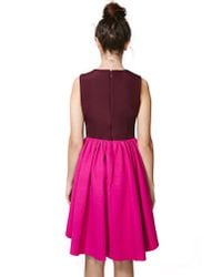 Nasty Gal - Pink Cameo Cathedral Dress - Lyst