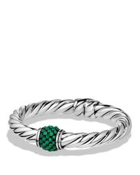 David Yurman | Osetra Bracelet With Green Onyx | Lyst