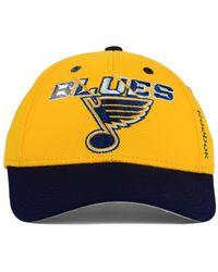 Reebok | Yellow Kids' St. Louis Blues 2nd Season Flex Cap | Lyst