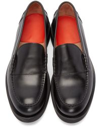Paul Smith Black Shipton Loafers for men