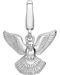 Theo Fennell Metallic Alias Sterling Silver Dove Pax Charm - For Women