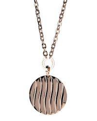 Rebecca | Metallic Necklace | Lyst