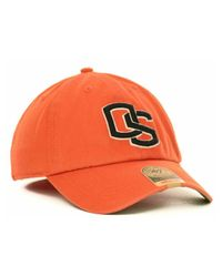 47 Brand - Orange Oregon State Beavers Ncaa '47 Franchise Cap for Men - Lyst