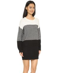 MINKPINK - White Lookin Out Sweater Dress - Lyst