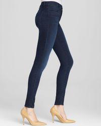 J Brand Black Maria High Rise Skinny Jeans In Darkness