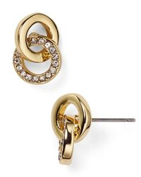 kate spade new york | Metallic Stud Earrings - Bloomingdale's Exclusive | Lyst