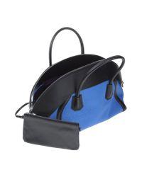 MCM - Blue Handbag - Lyst