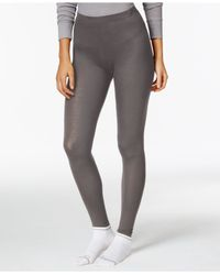 32 Degrees | Gray Solid Knit Baselayer Leggings | Lyst