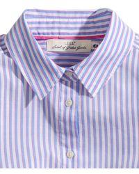 H&M Blue Cotton Shirt