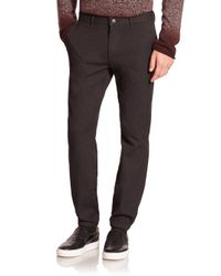 VINCE | Gray City Cotton-blend Joggers for Men | Lyst