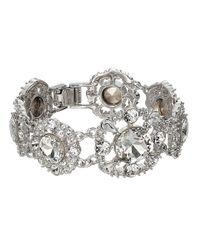 kate spade new york | Metallic Grand Debut Gems Bracelet | Lyst