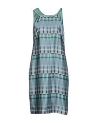 Giorgio Armani - Green Knee-length Dress - Lyst
