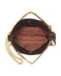 Stella McCartney Yellow Falabella Tiny Embellished Shoulder Bag