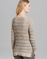 Vince Natural Slub Texture Sweater