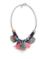 Cecilia Ma - Blue Necklace - Lyst