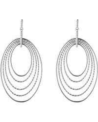 Links of London | Metallic Aurora Silver Loop Chandelier Earrings | Lyst