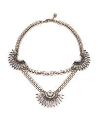Lulu Frost - Metallic Beacon Statement Necklace - Lyst