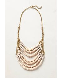 Anthropologie | Metallic Salt Flats Bib Necklace | Lyst
