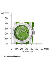 Swiss Legend - Commander Green Silicone And Dial - Lyst