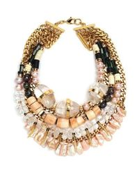Lizzie Fortunato | Metallic Excess And Elegance Necklace | Lyst