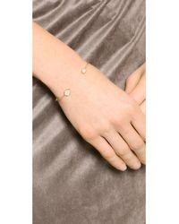 Tai - Metallic Dual Stone Bracelet - Gold/moon - Lyst