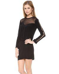 IRO - Black Abbie Dress - Lyst