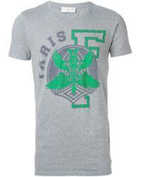 Faith Connexion - Gray Emblem Print T-shirt for Men - Lyst