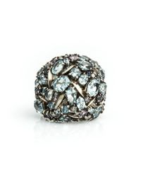 Alexis Bittar | Multicolor Cool Heather Marquis Cluster Dome Ring You Might Also Like | Lyst