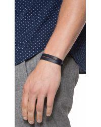 Want Les Essentiels De La Vie - Black Vantaa Tone Buckle Bracelet for Men - Lyst