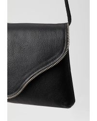 Forever 21 - Black Jj Winters Camilla Textured Leather Crossbody - Lyst