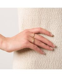 Kelly Wearstler | Metallic Cabot Two Finger Ring | Lyst