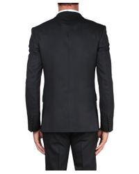Givenchy - Black Gabardine Wool Suit for Men - Lyst