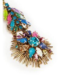 Erickson Beamon - Multicolor 'telepathic' Crystal Firework Drop Earrings - Lyst