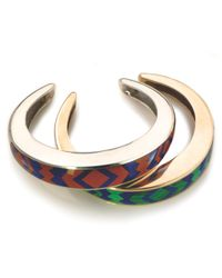 Pamela Love | Metallic Inlay Cuff | Lyst