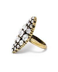 BaubleBar | Metallic Crystal Christine Ring | Lyst