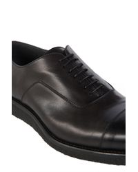 BOSS Gray 'aspin' | Leather Oxford Shoes for men