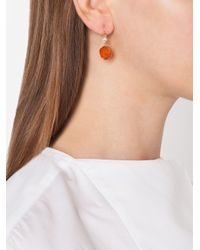 Irene Neuwirth | Metallic Carnelian And Diamond Drop Earrings | Lyst