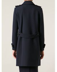 Tory Burch Blue 'Shannon' Coat